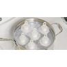 Pojemniki do gotowania jajek bez skorupek