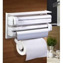 Organizer dyspenser 3 w 1 na folię i ręcznik