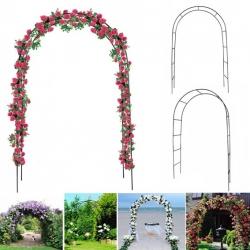 Pergola ogrodowa łuk na kwiaty