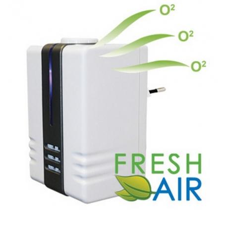 Siecowy jonizator powietrza