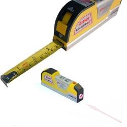 Poziomica laserowa z rozwijaną miarką 2,5m