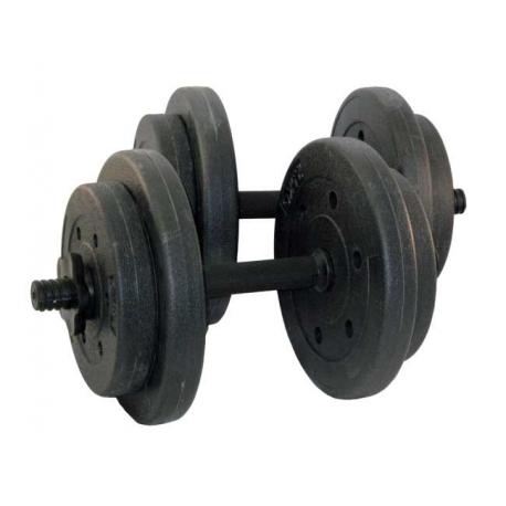 Hantle Powlekane 18kg Zestaw 2x9kg
