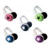 Słuchawki z gwiazdą różne kolory