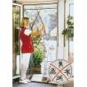 Moskitiera drzwiowa 2-częściowa