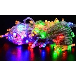 Lampki choinkowe wielokolorowe 100 LED